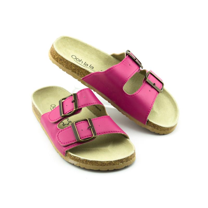 Ženske papuče - ravne - LP15931