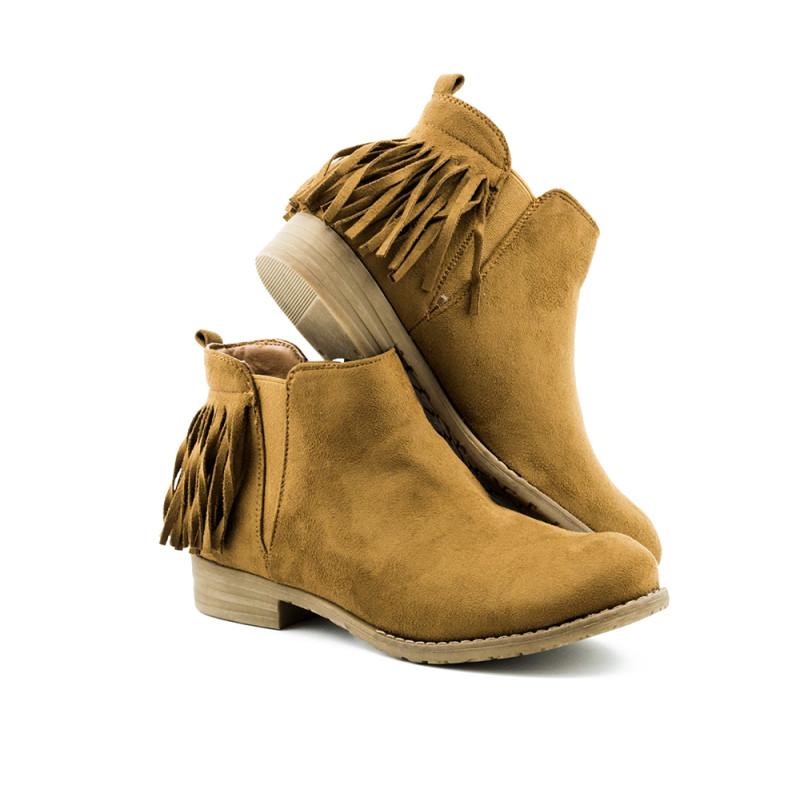 Ženske poluduboke čizme - L30414-1