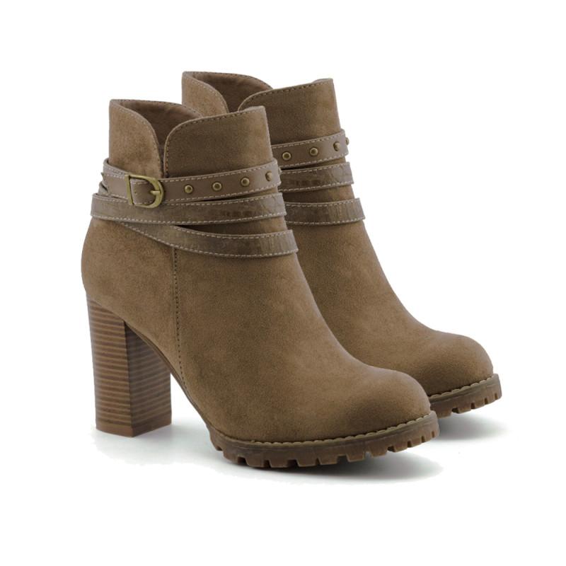 Ženske poluduboke čizme - LH35613