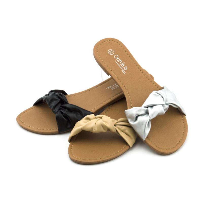 Ženske papuče - ravne - LP15934