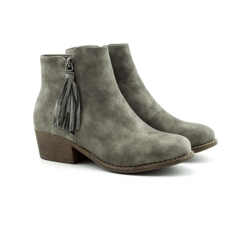 Ženske poluduboke čizme - LH35611